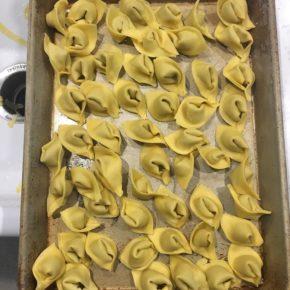 Hand Made Porcini Mushroom Tortellini